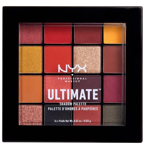 NYX Professional Makeup Ultimate Eyeshadow Palette - Phoenix 16 x 0.83g