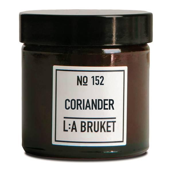 L:A BRUKET Small Coriander Scented Candle 50g