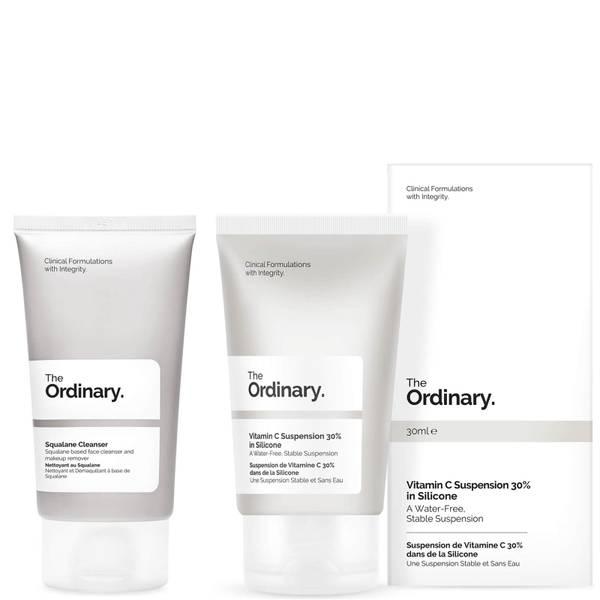 The Ordinary Vitamin C Suspension Cream and Squalane Cleanser 50ml