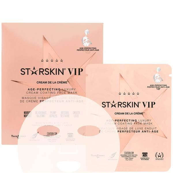 STARSKIN VIP Cream de la Crème Age-Perfecting Luxury Cream Coating Face Mask