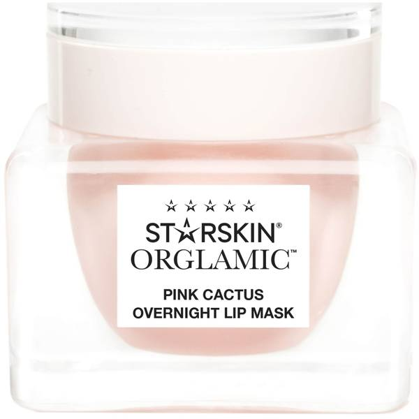 STARSKIN Orglamic Pink Cactus Foaming Lip Mask Nourish and Plump 0.51 fl. oz