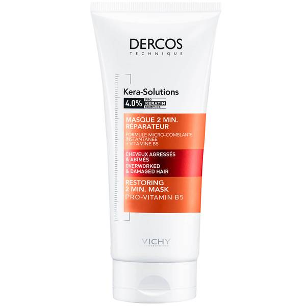 VICHY Dercos Kera Solutions Restoring 2 Minute Conditioning Mask 200ml