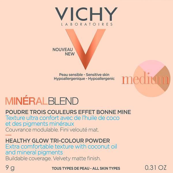 VICHY Mineralblend Tri-Colour Medium Powder 9g