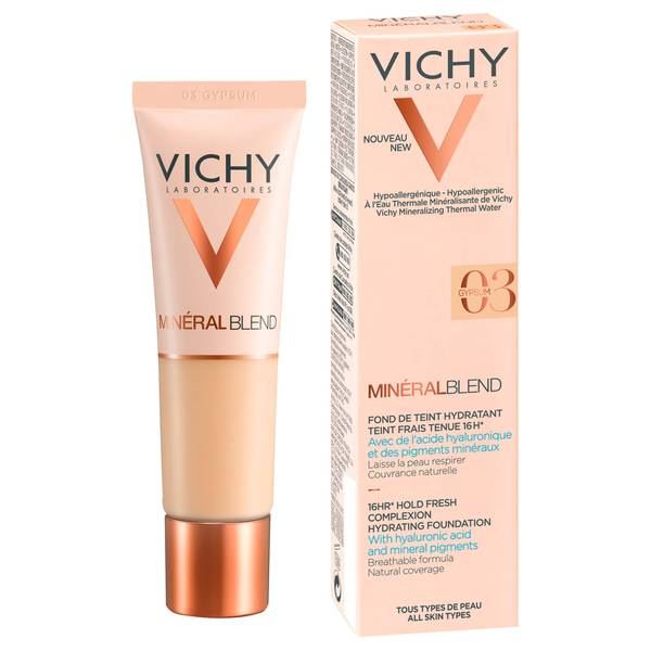 VICHY Mineralblend Fluid Gypsum Foundation 30ml