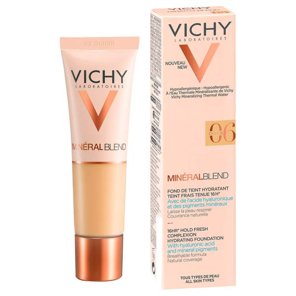 VICHY Mineralblend Fluid Ocher Foundation 30ml