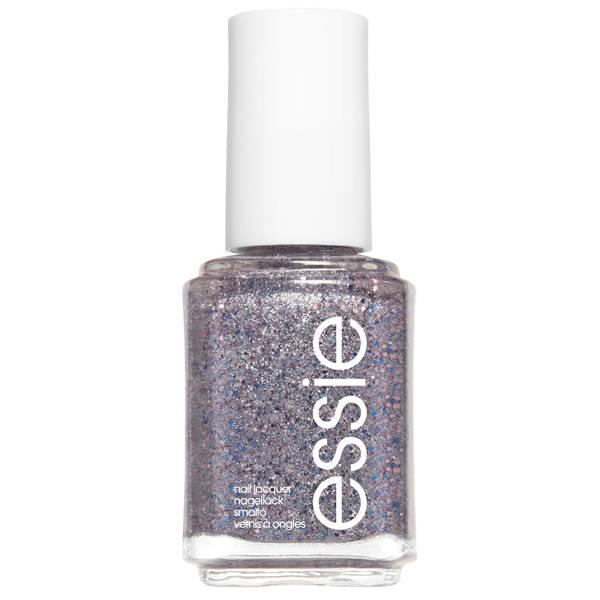 essie 511 Congrats Silver Pink Glitter Nail Polish 13.5ml
