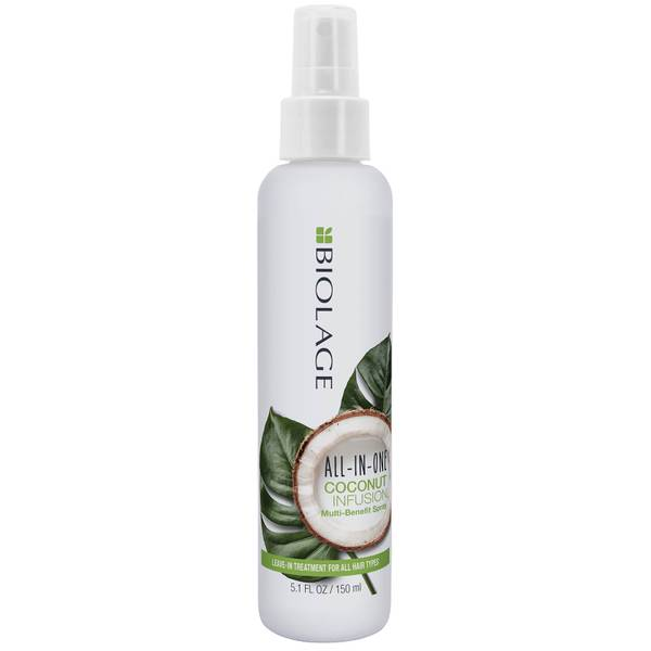Biolage All-In-One Coconut Infusion Multi-Benefit Leave-In Spray for All Hair Types 150ml