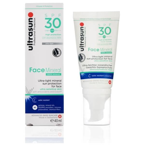 Ultrasun Mineral Face SPF30 Lotion 40ml
