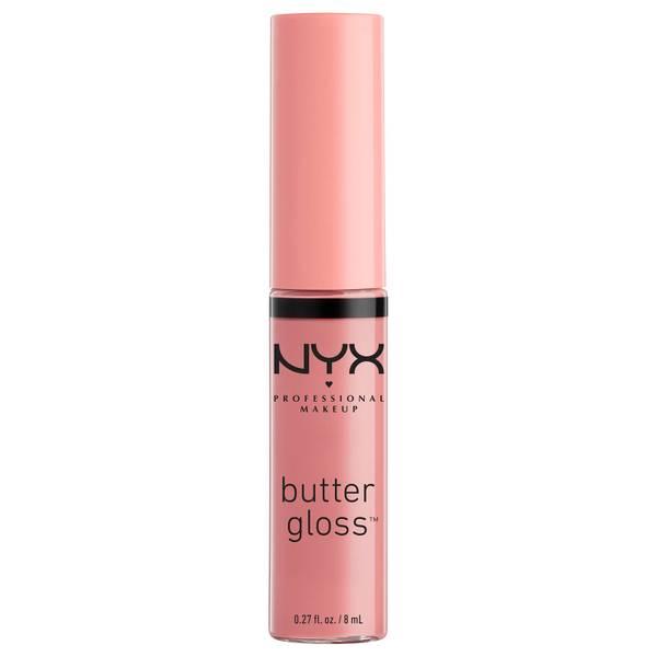 NYX Professional Makeup Butter Gloss 8ml (Various Shades)