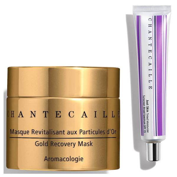Chantecaille Exclusive Alabaster X Gold Recovery Mask Duo