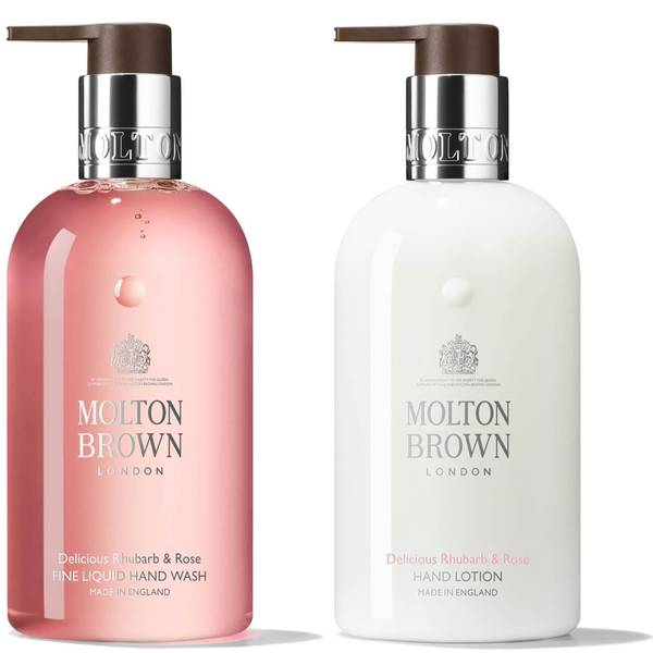 Molton Brown Delicious Rhubarb and Rose Bundle