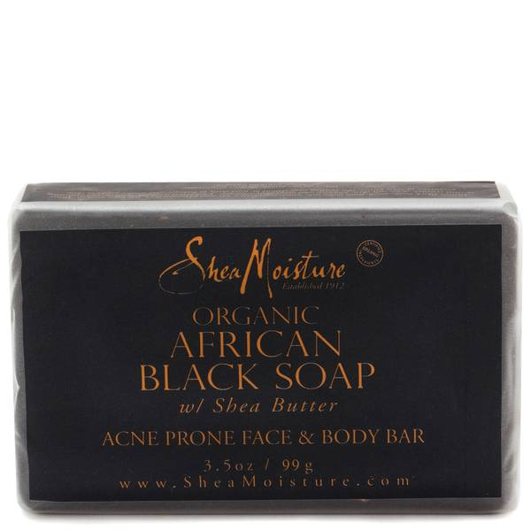 SheaMoisture African Black Soap with Shea Butter Face Bar 99g