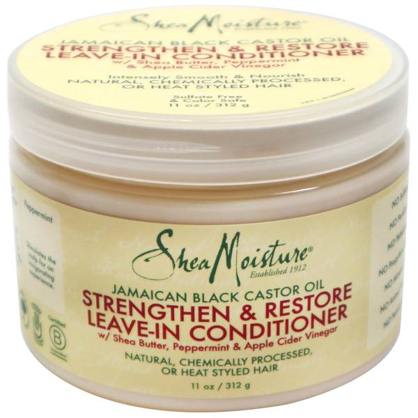 SheaMoisture Jamaican Black Castor Oil Strengthen and Restore Leave In Conditioner 312g