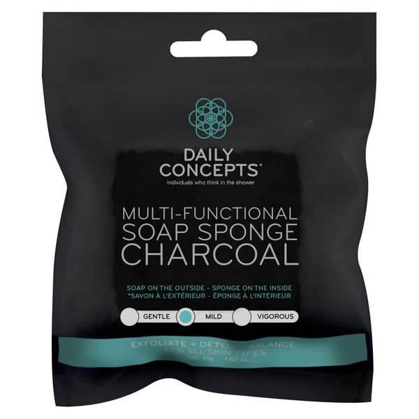 Multifunctional Charcoal Soap Sponge 45 oz