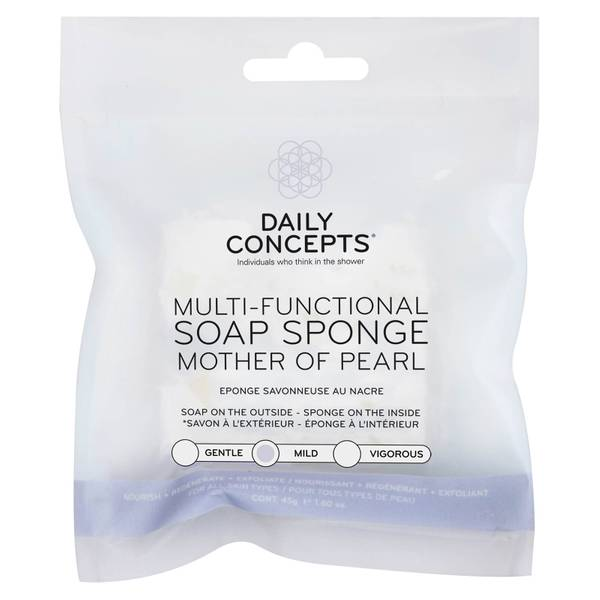 Multifunctional Mother of Pearl Soap Sponge 45 oz