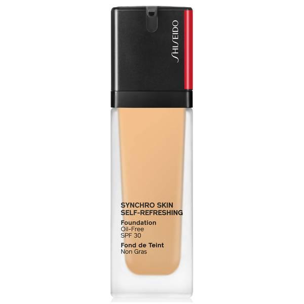 كريم الأساس Synchro Skin Glow من Shiseido بحجم 30 مل (درجات متعددة)