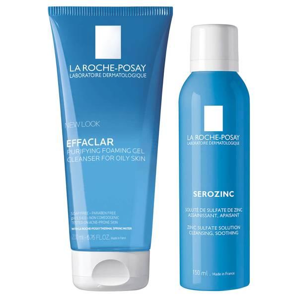 La Roche-Posay Men's Skincare Cleanse and Post Shave Care Duo