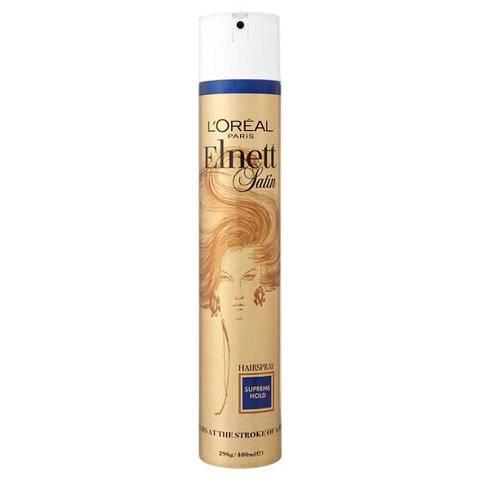 L'Oréal Paris Elnett Satin Hairspray - Supreme Hold (400ml)