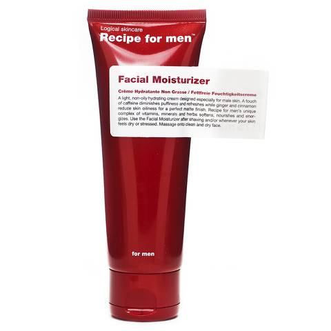 Recipe for Men - Facial Moisturiser 75ml