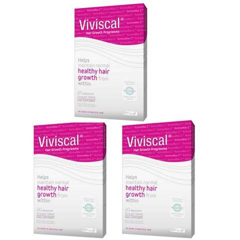 Viviscal Max Hair Growth Supplement (3 x 60s) (3 months supply)