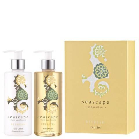 Seascape Island Apothecary Refresh Duo Gift Set (2 x 300ml)