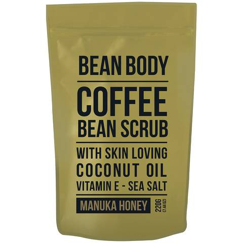 Bean Body 麥盧卡蜂蜜咖啡豆身體磨砂膏 220g
