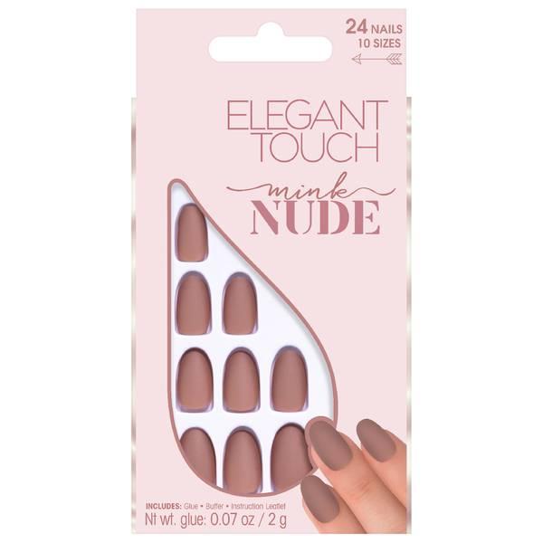 Elegant Touch Künstliche Fingernägel Nude Collection Mink