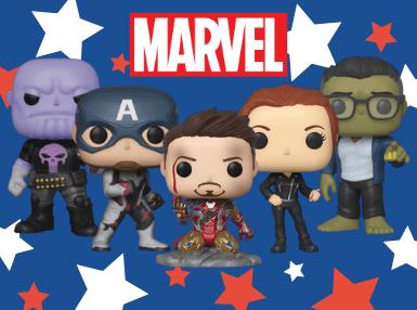Bist du ein Avengers oder X-Men Fan? Dann haben wir jetzt das perfekte Abo für dich! Jeden Monat nur Funko Pops aus der Marvel-Welt!