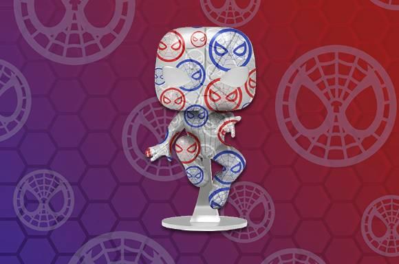 Patriotic Spider-Man EXC UK
