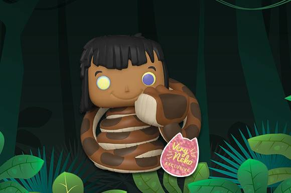 Jungle Book Mowgli with Kaa EXC is In-Stock!