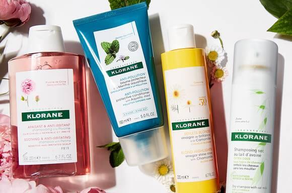 Klorane Product Range