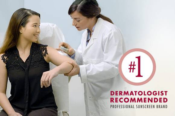 Number 1 Dermatologist recommended professional suncreen brand