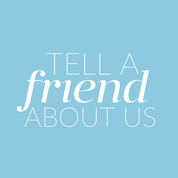 Step 1 tell a friend about us. Share your unique referral code or link with a friend!