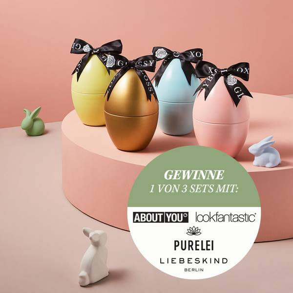 GLOSSYBOX im April easter egg Edition
