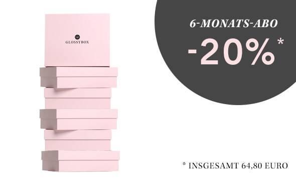 GLOSSYBOX Beauty Box 6-Monats-Abo