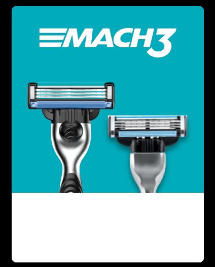 Gillette Mach3 Range
