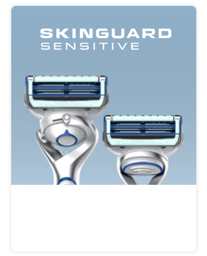 Gillette SkinGuard Sensitive Range
