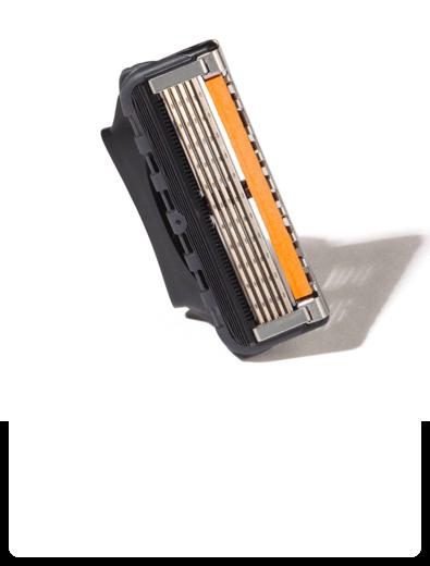 Close-up of Gillette Pro Blades