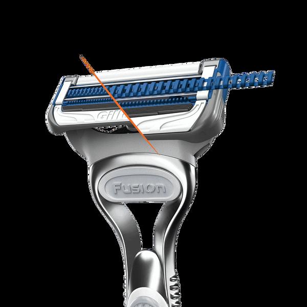 SkinGuard Sensitive Rasierer Technologie minimiert Druck auf Haut | Rasur | Gillette DE