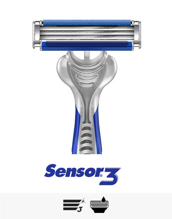 Gillette Sensor3 razor