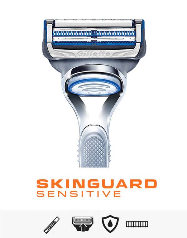Gillette Skinguard Sensitive razor