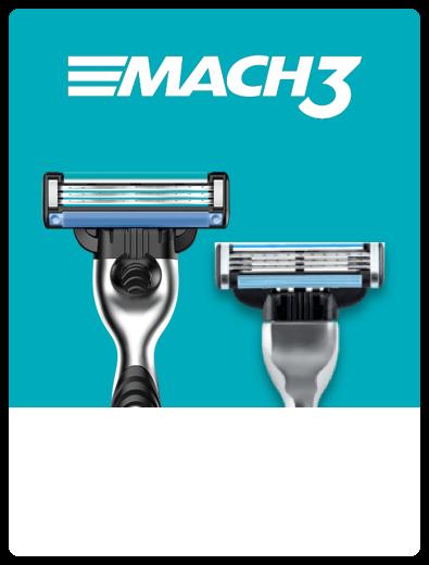 Gillette Mach3 Razor Closeup
