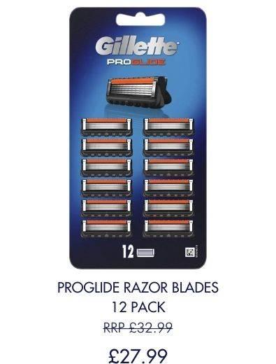 Save £5 on 12 pack of Proglide blades