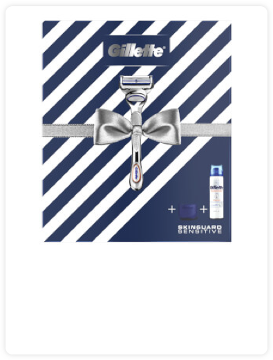 Gillette SkinGuard Sensitive Gift Set