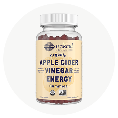 Apfelessig-Gummis Energie