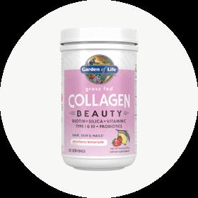 Grass Fed Collagen Beauty reúne los mejores bloques de construcción derivados de plantas para la belleza y nuestros exclusivos péptidos de colágeno bovino de tipo I y III altamente absorbibles.