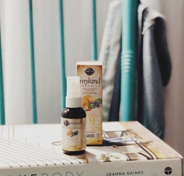 MyKind Organics vitamina D3 vegana spray