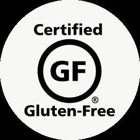 Certificado como sin gluten