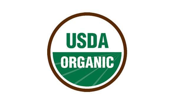 Nos statuts Certified USDA Organic et Non-GMO Project Verified