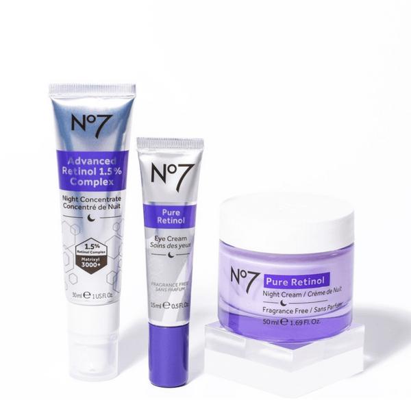 No.7 Early DefenceRange: Serum, Eye Cream, Night Cream and Day Cream